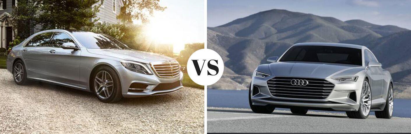 2017 Mercedes-Benz S-Class 4MATIC® vs 2017 Audi A8 quattro