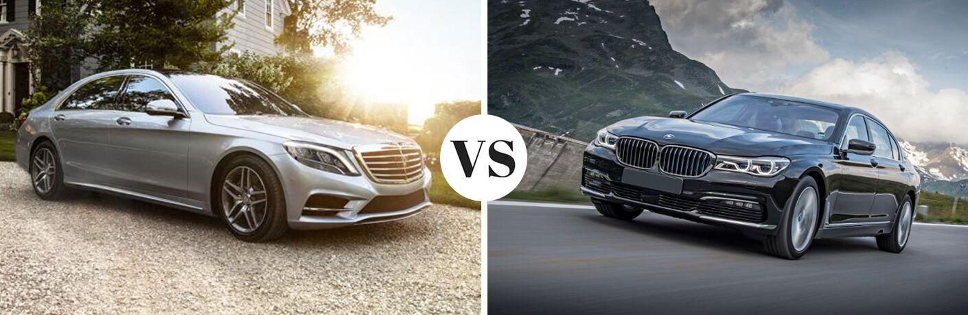 2017 Mercedes-Benz S-Class 4MATIC® vs 2017 BMW 7-Series