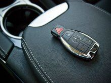 Mercedes-Benz Keys With Central-Locking System
