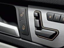 Car Door Buttons of Mercedes-Benz Vehicle