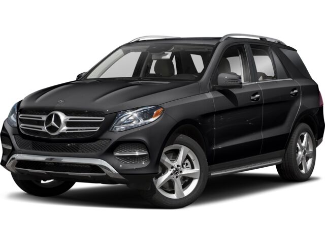 Side View of Black Mercedes-Benz GLE-Class