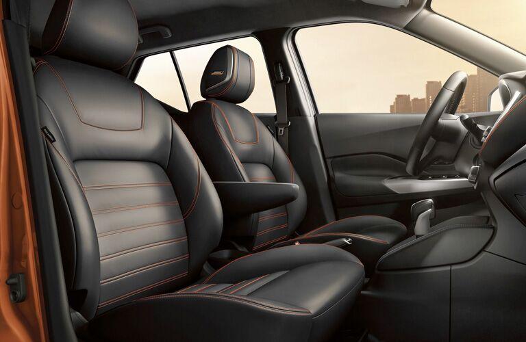2019 Nissan Kicks front seats