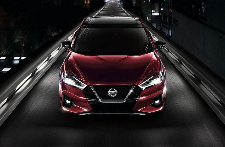 2021 Nissan Maxima front profile