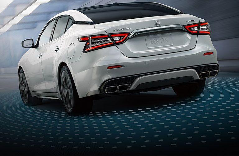2021 Nissan Maxima rear profile