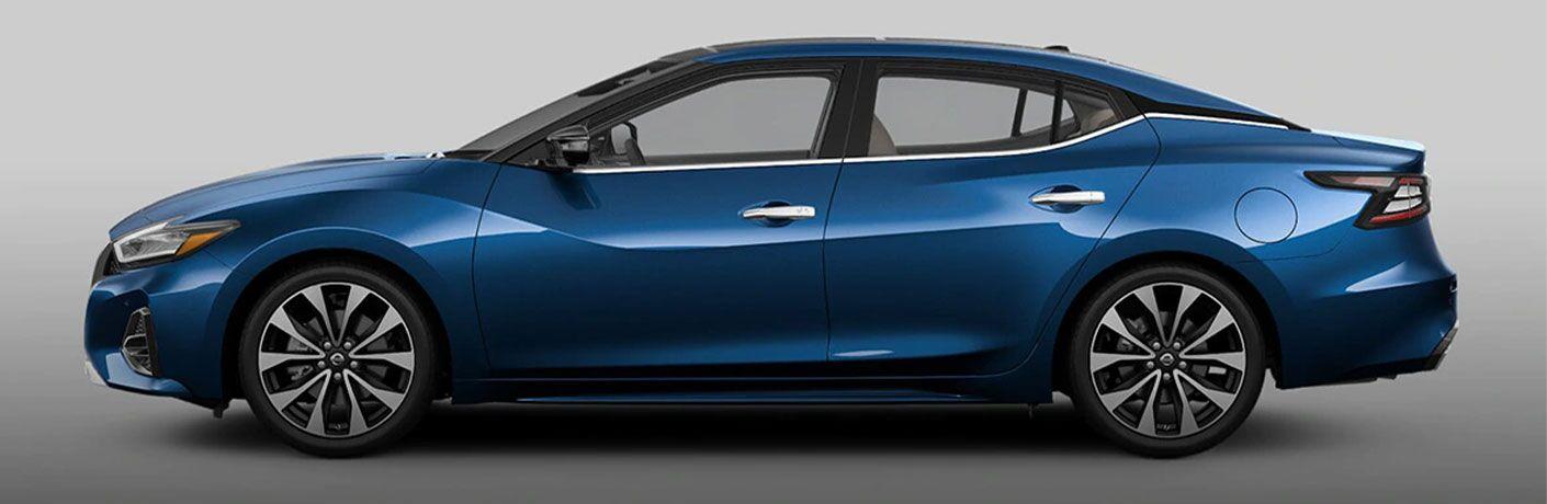 2021 Nissan Maxima side profile
