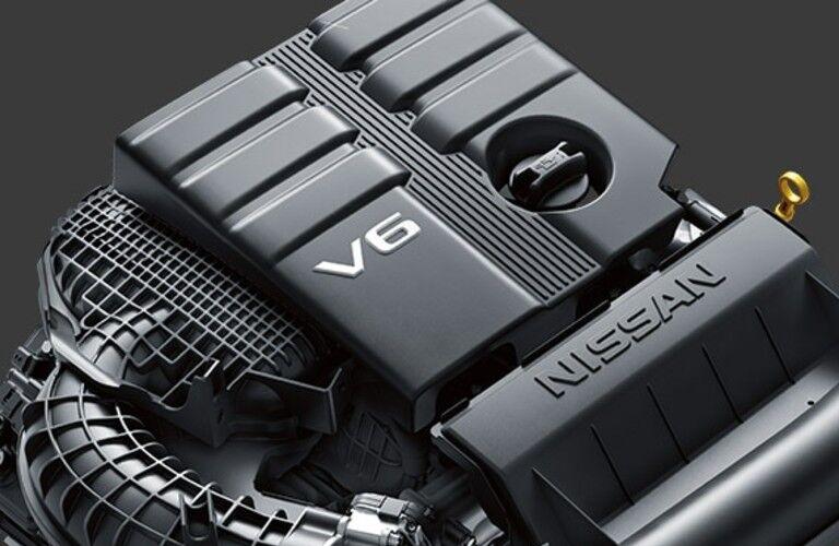 2021 Nissan Frontier V6 engine