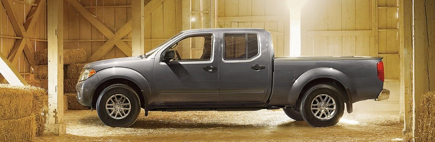 2021 Nissan Frontier side profile