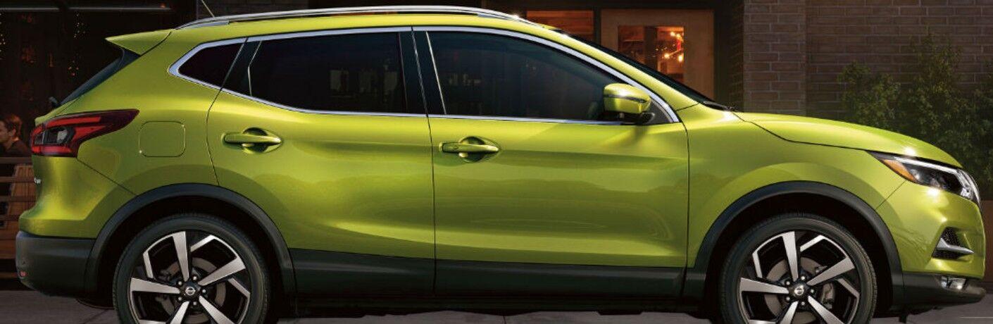 2021 Nissan Rogue Sport side profile