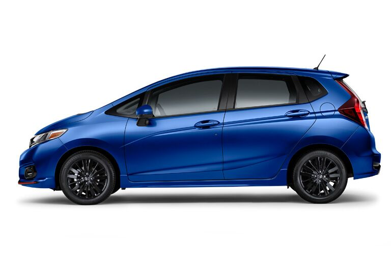 2018 honda fit sport profile view
