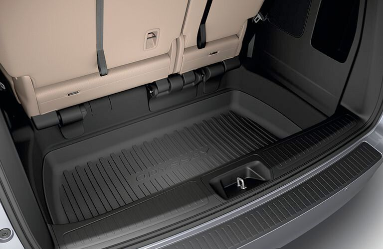 2019 Honda Odyssey rear storage compartment