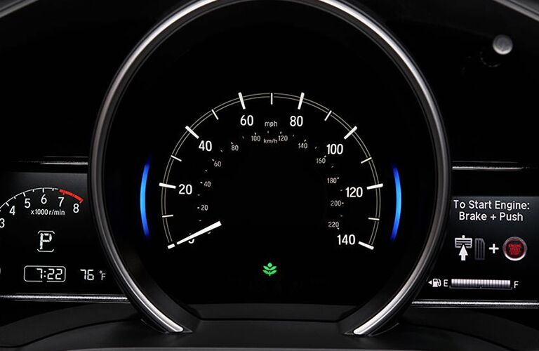 2019 Honda Fit speedometer