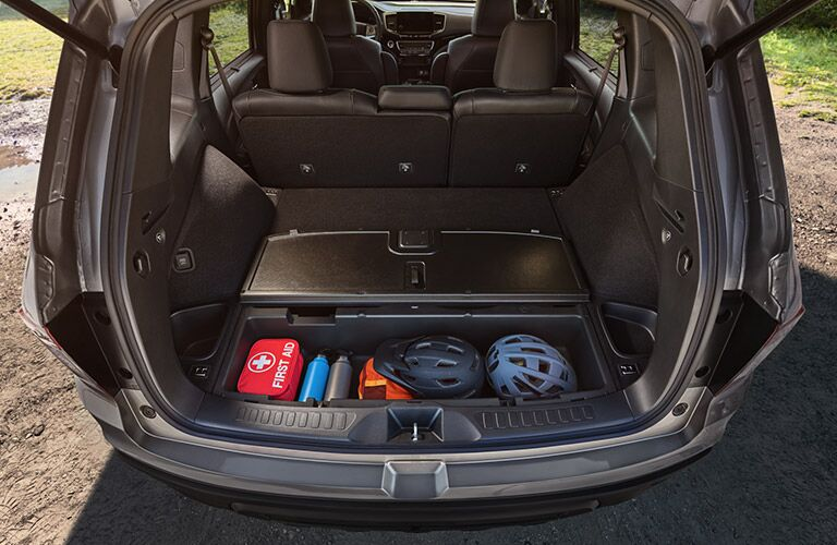 2019 Honda Passport rear cargo area