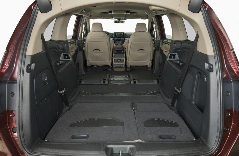 2019 Honda Odyssey rear cargo area
