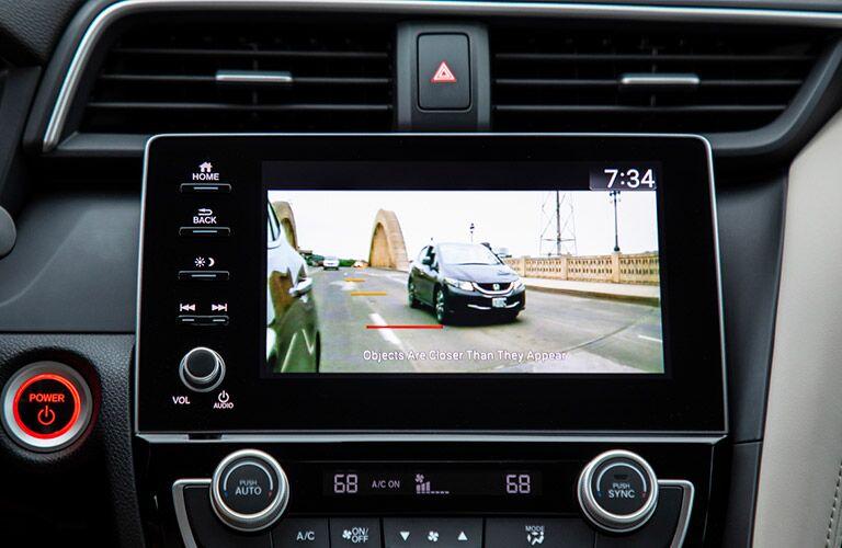 2020 Honda Insight rearview camera display