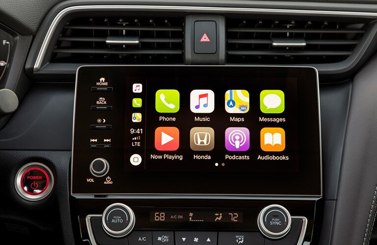 2020 Honda Insight touchscreen display