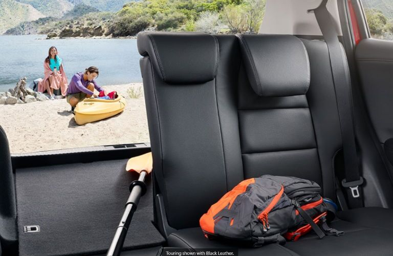 2020 Honda HR-V rear cargo area