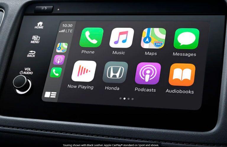 2020 Honda HR-V touchscreen display