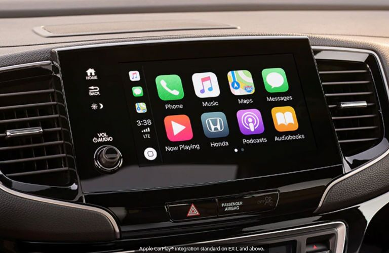 2020 Honda Passport touchscreen display