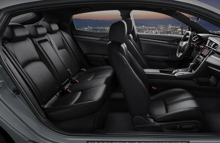 2021 Honda Civic Hatchback passenger seats