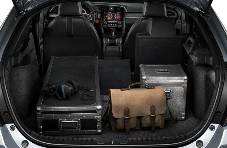 2021 Honda Civic Hatchback rear cargo area