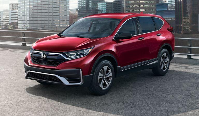 Honda CR-V front profile