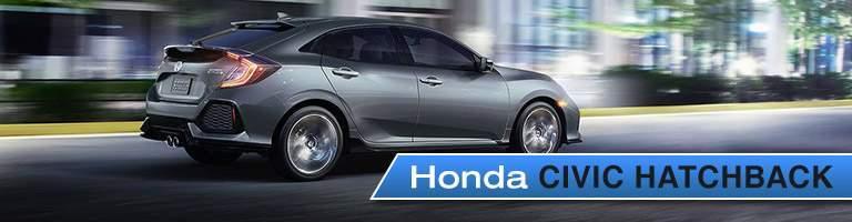 Honda Civic Hatchback side rear exterior