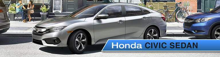 2017 honda civic sedan parked on street parallel