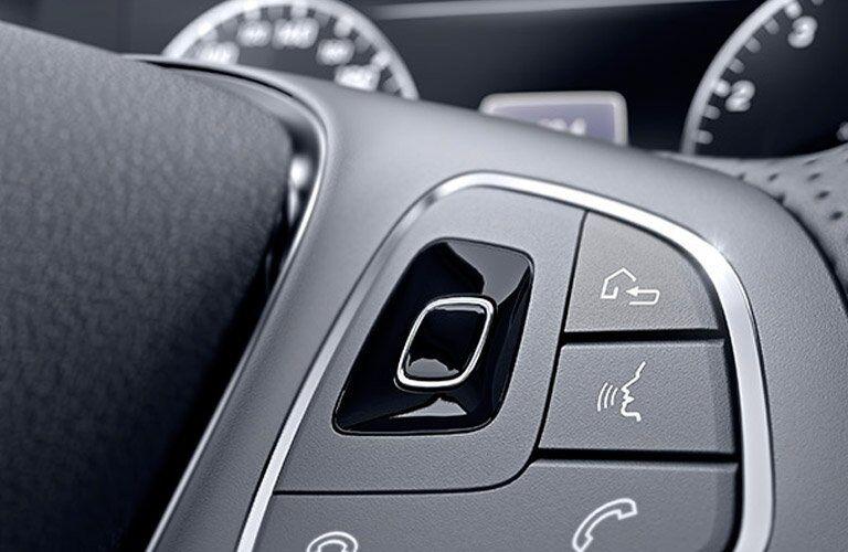 2017 Mercedes-Benz E-Class E300 4MATIC Steering Wheel controls
