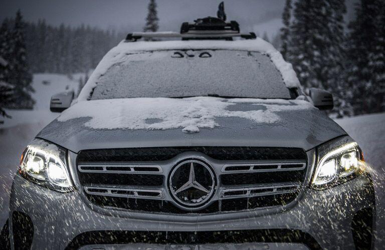 2017 Mercedes-Benz GLS-Class exterior front