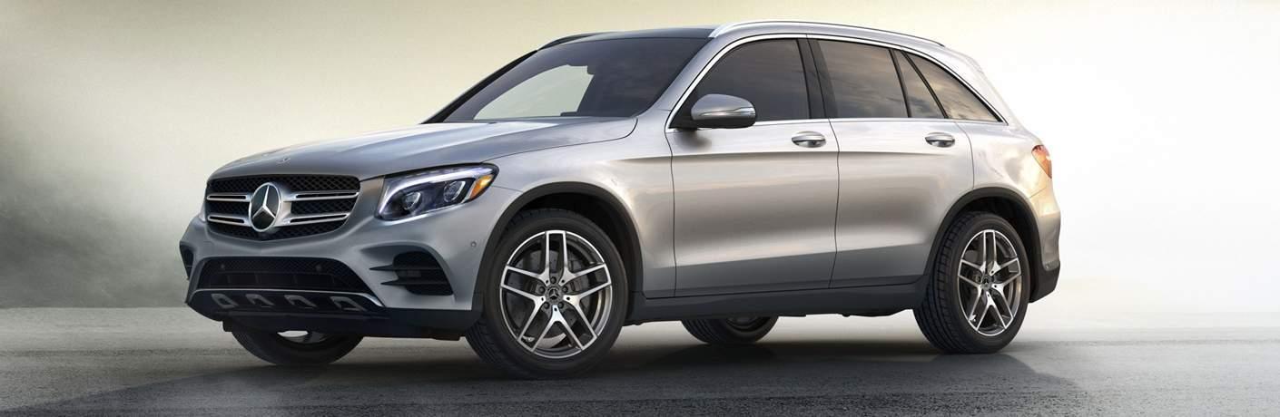 2018 Mercedes-Benz GLC with White Background