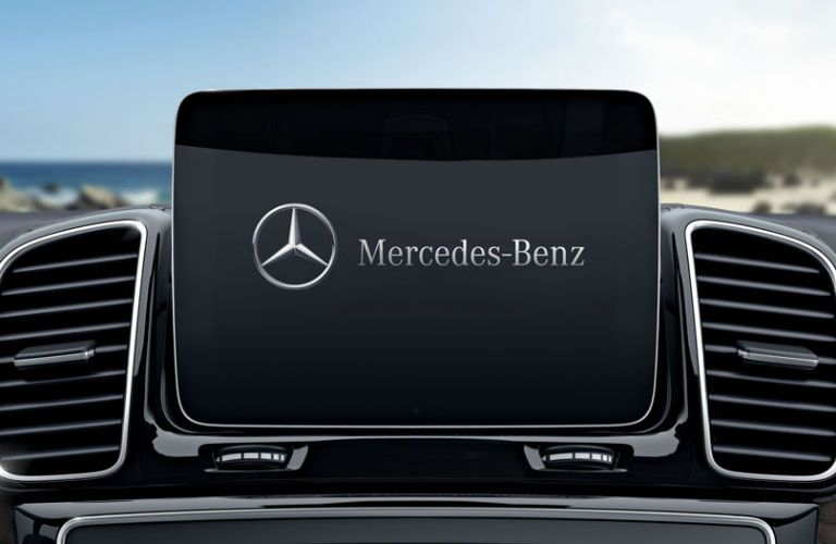 Touchscreen display of the 2018 Mercedes-Benz GLS
