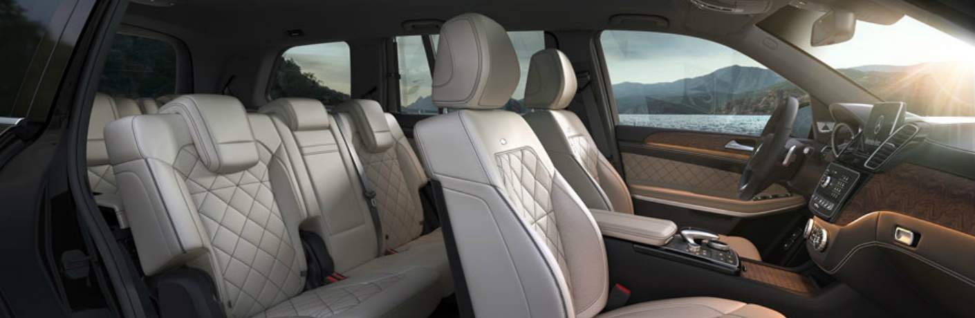 Three Rows of Seats Inside the Mercedes-Benz GLS