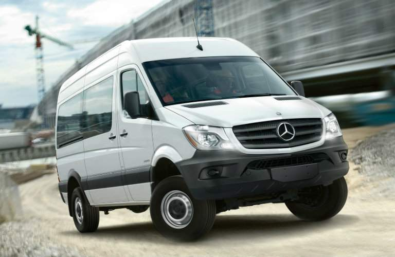 2017 Mercedes-Benz Sprinter Passenger Grille and Wheels