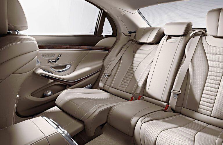 2017 Mercedes-Benz S-Class Backseat