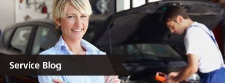 woman smiling, service blog link