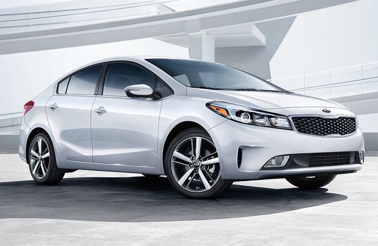 2018 Kia Forte white side view