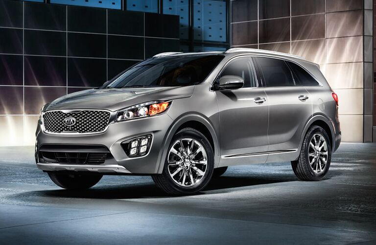 2018 Kia Sorento gray side view
