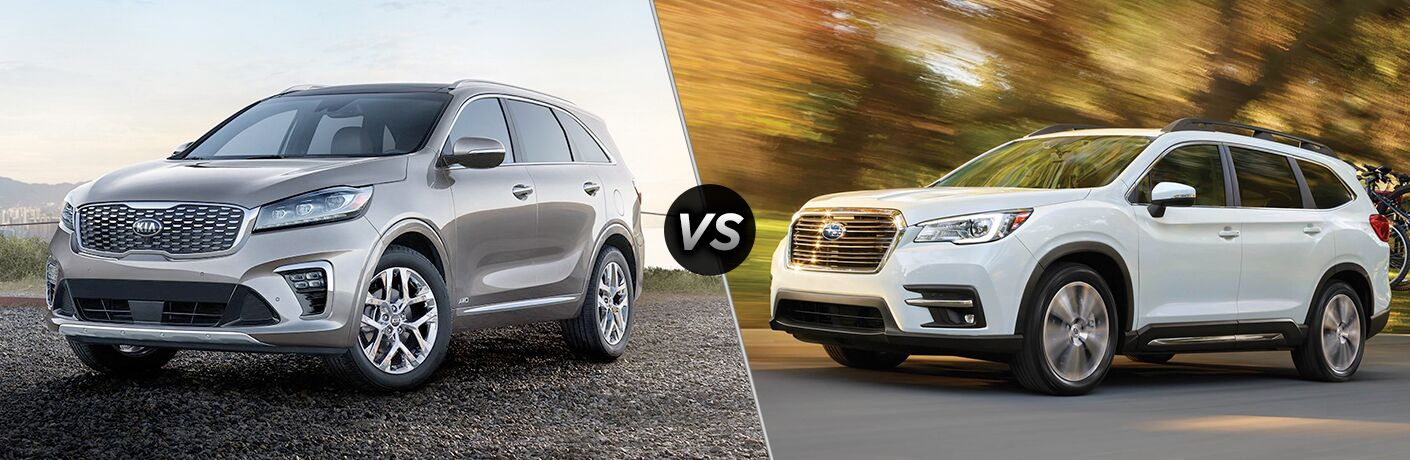 2019 Kia Sorento vs 2019 Subaru Ascent