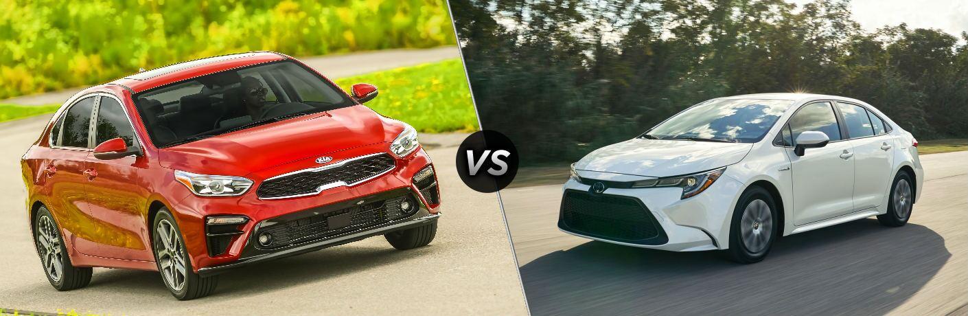 2020 Kia Forte vs 2020 Toyota Corolla