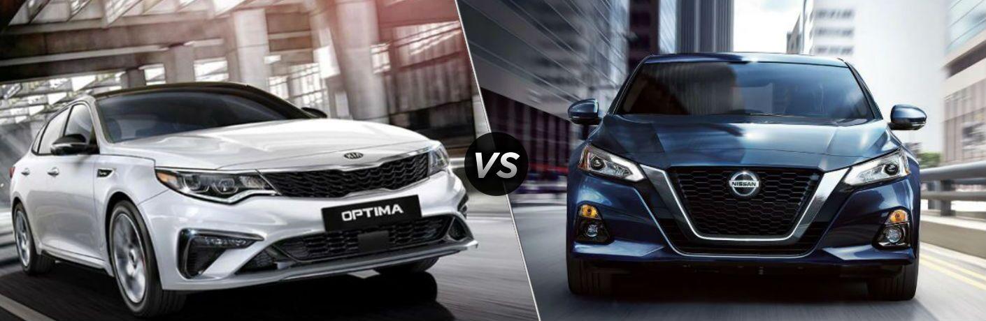 2020 Kia Optima vs 2020 Nissan Altima