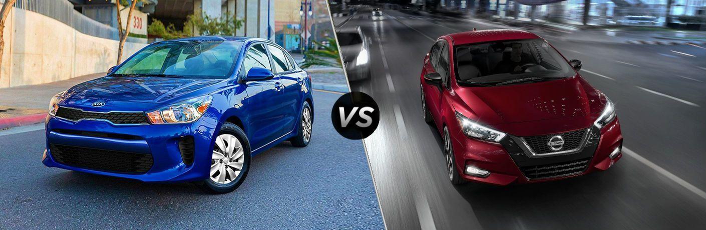 2020 Kia Rio vs 2020 Nissan Versa