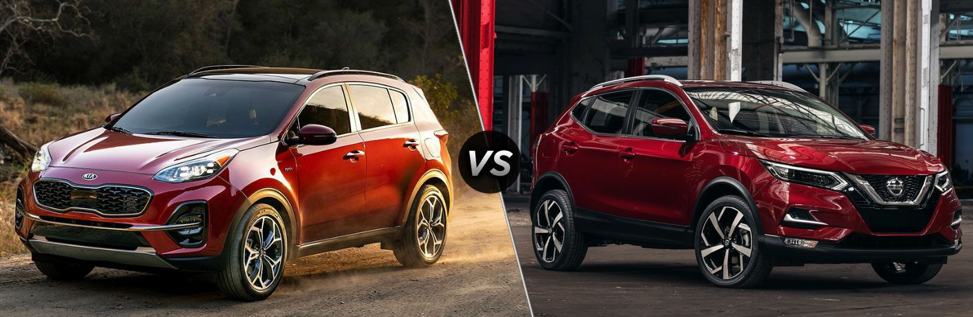 2020 Kia Sportage vs 2020 Nissan Rogue Sport