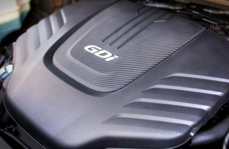 2021 Kia Sedona engine view