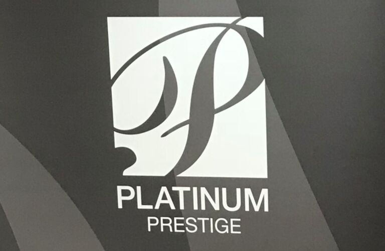 Kia VanDevere Platinum Prestige Award closeup