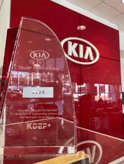 2020 Kia Dealer Excellence Program Plus award (KDEP+)
