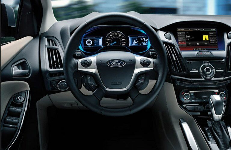 2014 Ford Focus cabin space