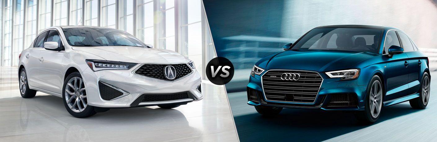 2019 Acura ILX vs 2019 Audi A3