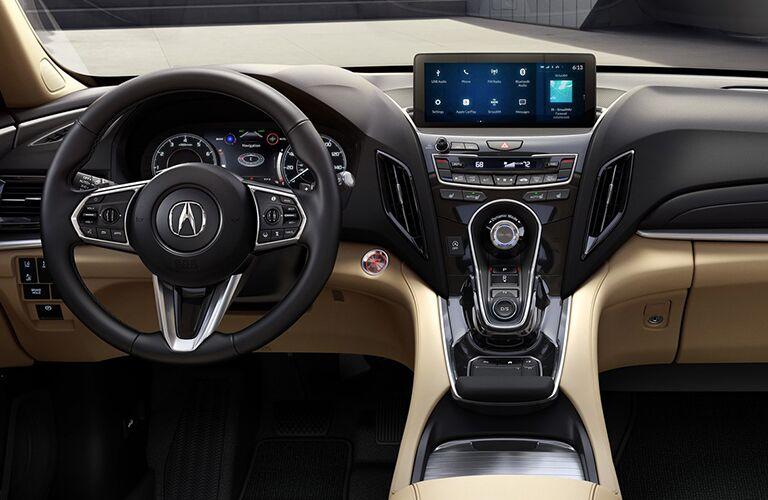 2019 Acura MDX dashboard