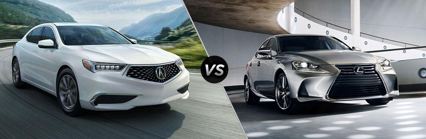 2019 Acura TLX vs 2019 Lexus IS