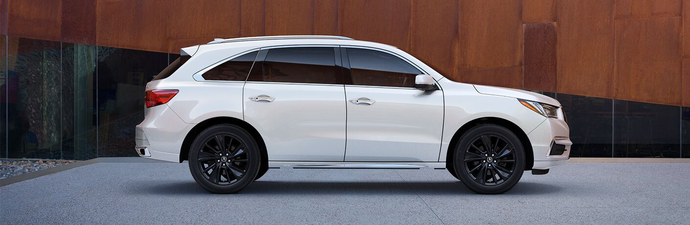 2020 Acura MDX in white